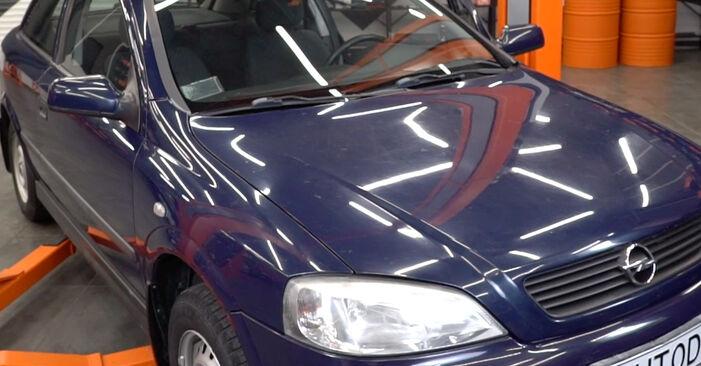 Quanto è difficile il fai da te: sostituzione Filtro Olio su Opel Astra g f48 2.0 DI (F08, F48) 2004 - scarica la guida illustrata
