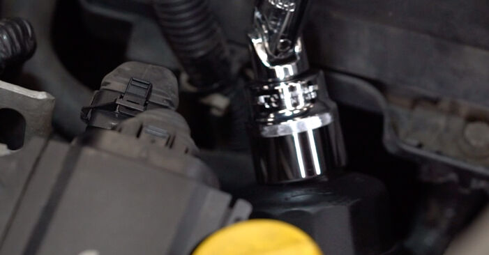 How to replace Oil Filter on OPEL Astra G CC (T98) 2003: download PDF manuals and video instructions