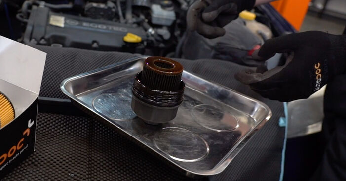 Need to know how to renew Oil Filter on OPEL ASTRA ? This free workshop manual will help you to do it yourself