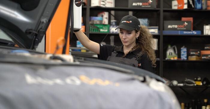 Kuidas vahetada Audi A4 B7 Sedaan 2004 Kütusefilter - tasuta PDF- ja videojuhendid