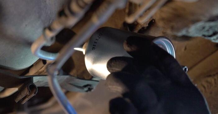 Kiek užtrunka keitimas: Opel Astra g f48 2006 Kuro filtras - informatyvi PDF instrukcija