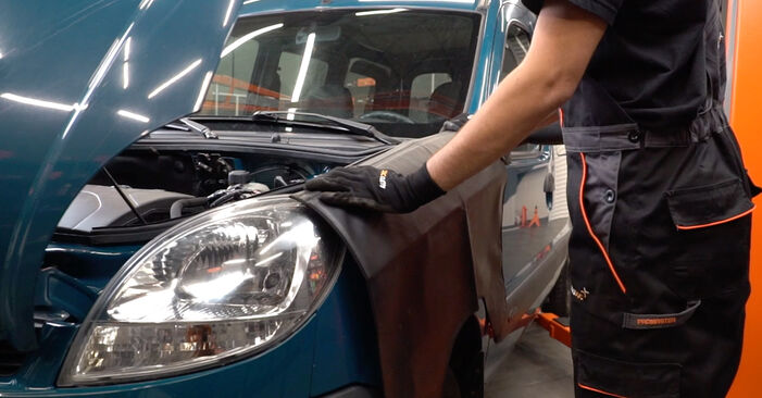 How to replace RENAULT KANGOO (KC0/1_) D 65 1.9 1998 Spark Plug - step-by-step manuals and video guides
