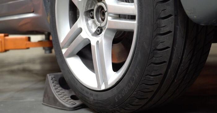 Wechseln Bremsscheiben am AUDI A4 Limousine (8EC, B7) 2.0 TFSI quattro 2007 selber