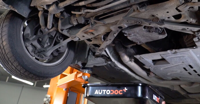 BMW 3 SERIES 318d 2.0 Ölfilter ausbauen: Anweisungen und Video-Tutorials online
