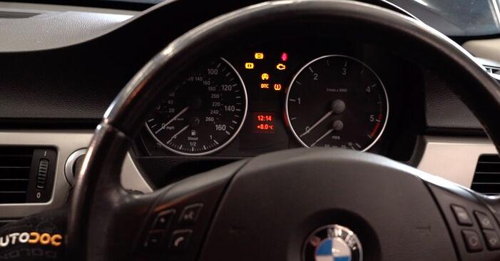 Wie man BMW 3 Limousine (E90) 320d 2.0 2004 Ölfilter austauscht - Schritt-für-Schritt-Tutorials und Videoanleitungen