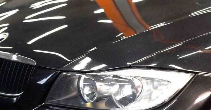Wie BMW 3 SERIES 325i 2.5 2007 Ölfilter ausbauen - Einfach zu verstehende Anleitungen online