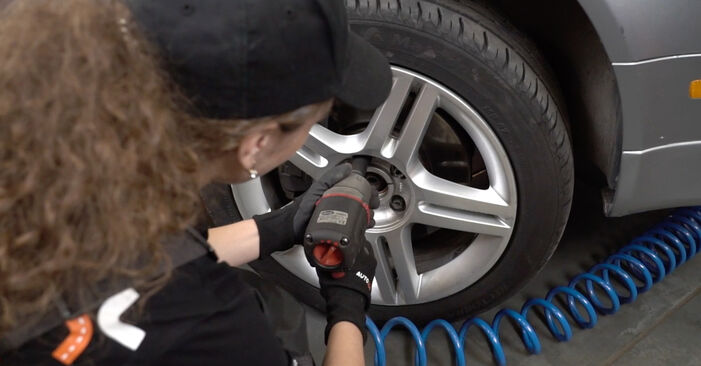 How to remove AUDI A4 2.0 2008 Brake Pads - online easy-to-follow instructions