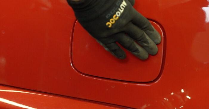 Kā nomainīt Degvielas filtrs BMW 3 Convertible (E46) 1998 - bezmaksas PDF un video rokasgrāmatas