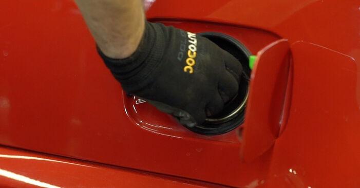 Kā nomainīt BMW 3 Cabrio (E46) 330Ci 3.0 1999 Degvielas filtrs - pakāpeniskās rokasgrāmatas un video ceļveži