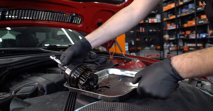 Changing of Oil Filter on BMW 3 Convertible (E46) 1998 won't be an issue if you follow this illustrated step-by-step guide