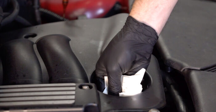 BMW 3 SERIES 330Ci 3.0 Oil Filter replacement: online guides and video tutorials