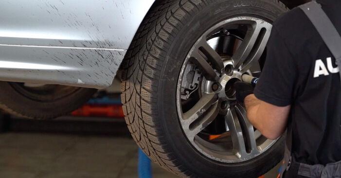 Comment retirer BMW 3 SERIES 330d 3.0 2002 Amortisseurs - instructions en ligne faciles à suivre