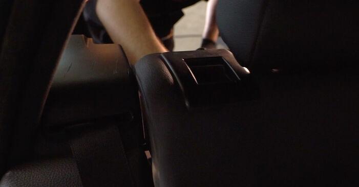 BMW 3 Touring (E46) 320i 2.2 2000 Amortisseurs remplacement : manuels d'atelier gratuits