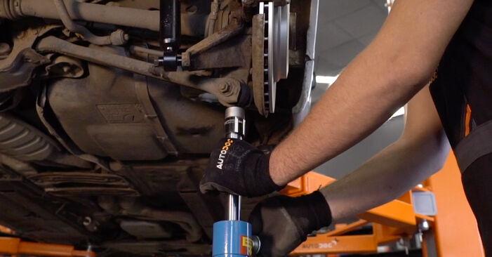 Stoßdämpfer Ihres BMW 3 Touring (E46) 330xi 3.0 1998 selbst Wechsel - Gratis Tutorial