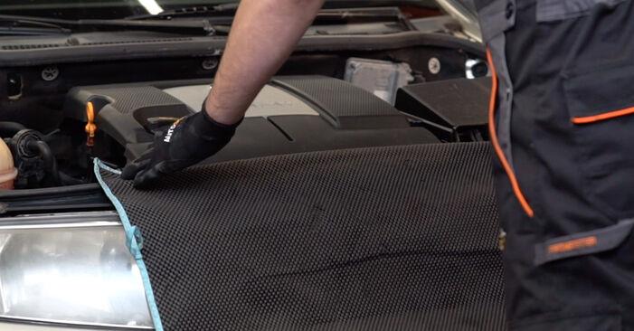 Hvordan man udskifter SKODA Fabia I Combi (6Y5) 1.4 16V 2000 Tændrør - trin-for-trin manualer og video vejledninger