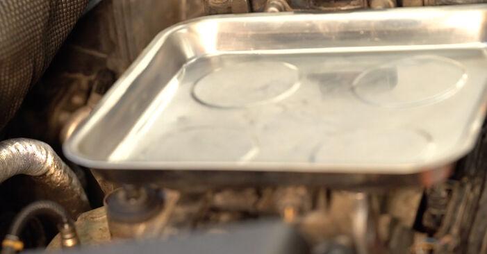 Fabia I Combi (6Y5) 1.4 TDI 2000 Oliefilter gør-det-selv udskiftnings værksted manual