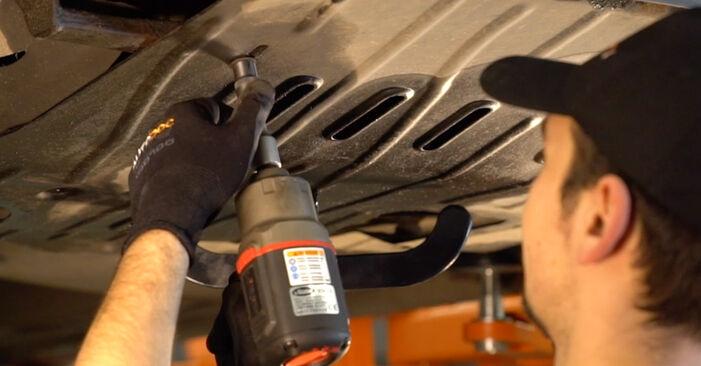Ölfilter VW T4 Transporter 1.9 TD 1992 wechseln: Kostenlose Reparaturhandbücher