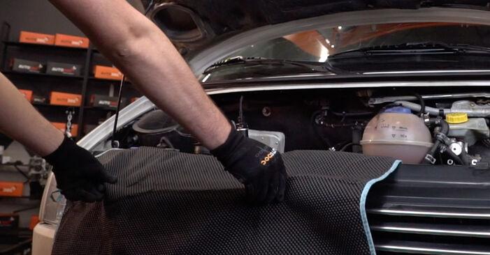 VW TRANSPORTER 1.9 TD Filtre à Huile remplacement: guides en ligne et tutoriels vidéo
