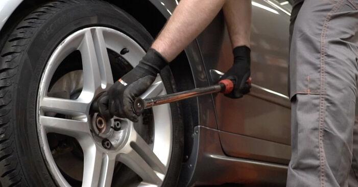 Wie Bremsscheiben Audi A4 B7 Limousine 2.0 TDI 16V 2004 tauschen - Kostenlose PDF- und Videoanleitungen