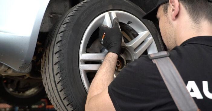 Bremsbeläge Ihres Audi A4 B7 Limousine 3.0 TDI quattro 2007 selbst Wechsel - Gratis Tutorial