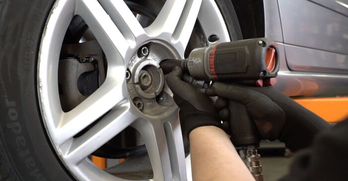 Audi A4 B7 Sedan 1.9 TDI 2006 Amortizators nomaiņa: bezmaksas remonta rokasgrāmatas