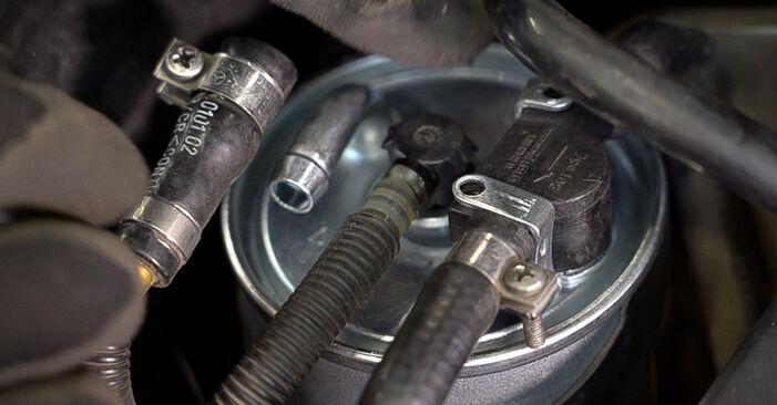 VITO Bus (638) 108 D 2.3 (638.164) 1999 108 CDI 2.2 (638.194) Kraftstofffilter - Handbuch zum Wechsel und der Reparatur eigenständig