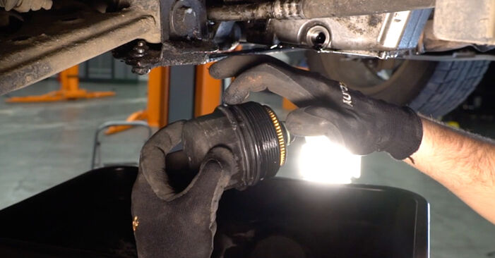 Changing Oil Filter on FIAT BRAVO II (198) 1.4 T-Jet 2009 by yourself