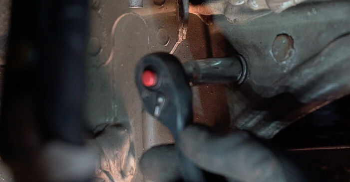 Austauschen Anleitung Kraftstofffilter am Renault Scenic 2 2005 1.9 dCi selbst