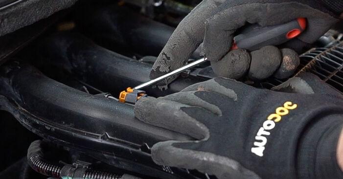 Zündkerzen Peugeot 208 1 1.6 HDi 2014 wechseln: Kostenlose Reparaturhandbücher