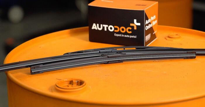 Wie Scheibenwischer Peugeot 208 1 1.4 HDi 2012 tauschen - Kostenlose PDF- und Videoanleitungen