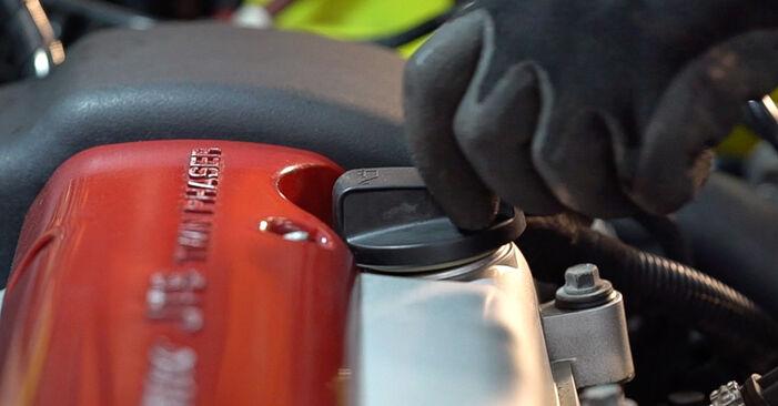 Αντικαθιστώντας μόνοι σας Φίλτρο λαδιού στο Alfa Romeo 159 Sportwagon 2007 1.9 JTDM 16V
