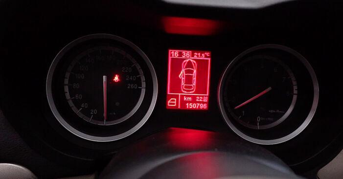 159 Sportwagon (939) 2.4 JTDM (939.BXM1B) 2008 Olajszűrő csináld magad csere szervizelési útmutató