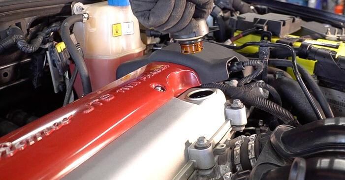Alfa Romeo 159 Sportwagon 2.4 JTDM 2007 Φίλτρο λαδιού αντικατάσταση: δωρεάν εγχειρίδια συνεργείου