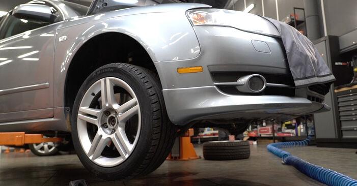 Federn Ihres Audi A4 B7 Limousine 3.0 TDI quattro 2007 selbst Wechsel - Gratis Tutorial