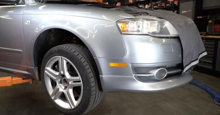 Tausch Tutorial Radlager am AUDI A4 Limousine (8EC, B7) 2006 wechselt - Tipps und Tricks