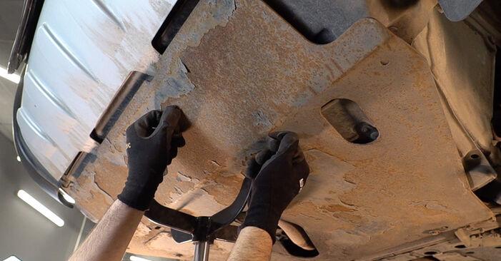 Substituição de Toyota RAV4 III 2.0 4WD (ACA30_) 2007 Filtro de Óleo: manuais gratuitos de oficina