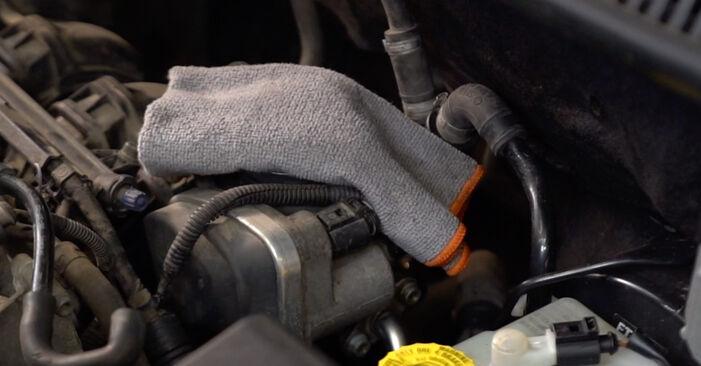 Wie VW POLO 1.9 TDI 2005 Luftfilter ausbauen - Einfach zu verstehende Anleitungen online
