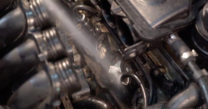 Hvordan man udskifter VW Golf IV Hatchback (1J1) 1.4 16V 1998 Tændrør - trin-for-trin manualer og video vejledninger