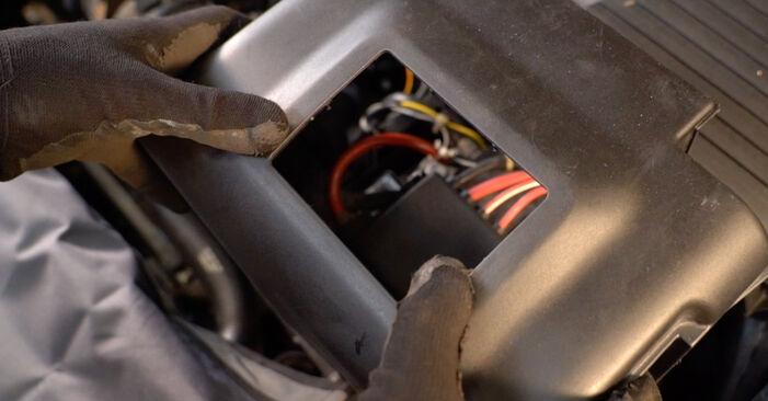 Udskiftning af Tændrør på VW Golf IV Hatchback (1J1) 1.9 TDI 2000 ved gør-det-selv