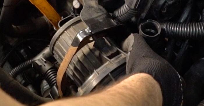 Golf IV Hatchback (1J1) 1.8 T 1999 Tændrør gør-det-selv udskiftnings værksted manual