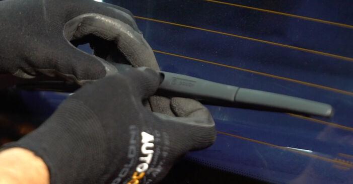 Scheibenwischer NISSAN LEAF Elektrik 2012 wechseln: Kostenlose Reparaturhandbücher