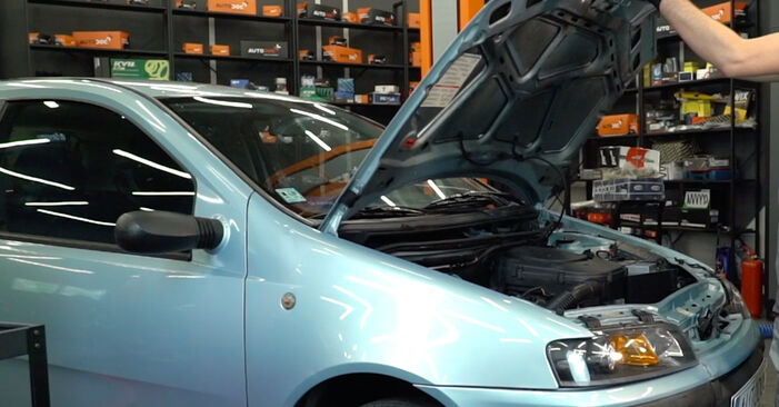 How to change Spark Plug on Fiat Punto 188 1999 - free PDF and video manuals