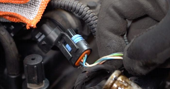 Zündkerzen beim FIAT PUNTO 1.8 130 HGT 2006 selber erneuern - DIY-Manual