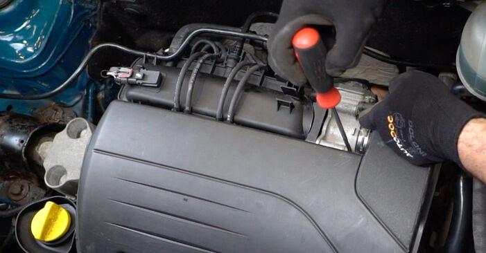 Naredite sami zamenjavo RENAULT KANGOO (KC0/1_) 1.5 dCi 2011 Zracni filter - spletni vodič