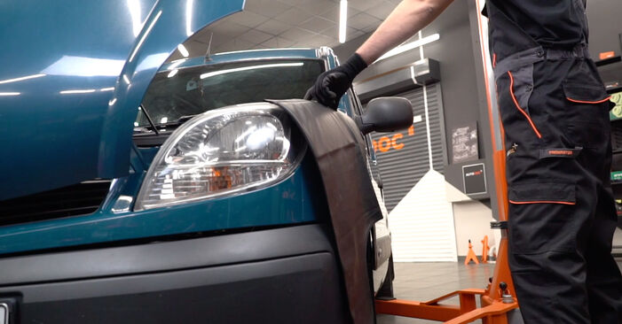 How to replace RENAULT KANGOO (KC0/1_) D 65 1.9 1998 Air Filter - step-by-step manuals and video guides