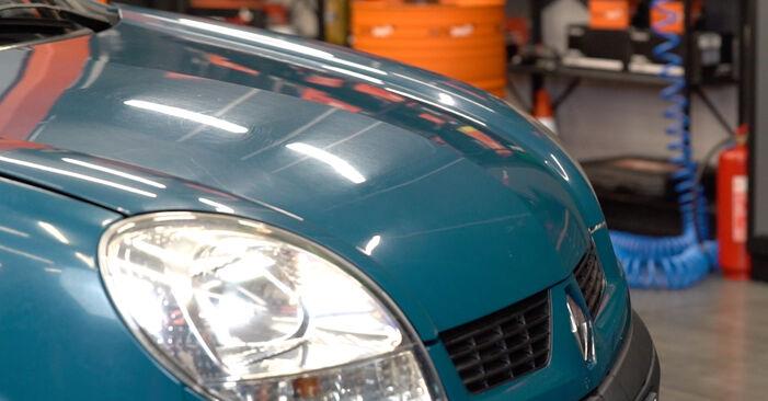 Renault Kangoo kc01 1.4 1999 Zracni filter zamenjava: brezplačni priročnik delavnice