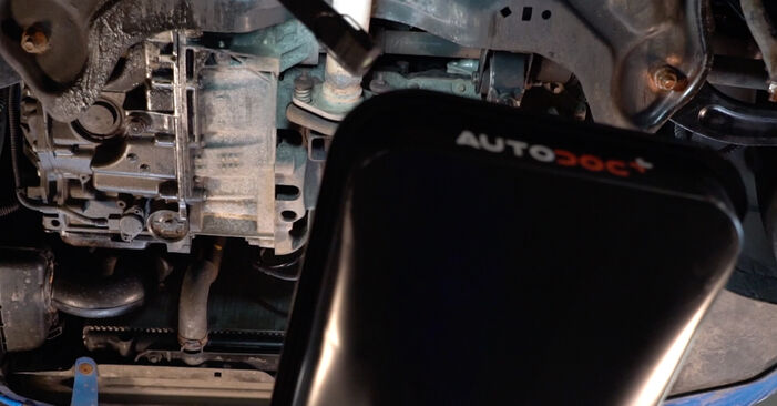 How to remove PEUGEOT 206 1.6 16V 2002 Oil Filter - online easy-to-follow instructions