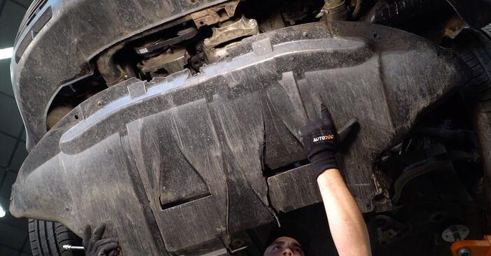 Jak odstranit VW PASSAT 1.6 2000 Olejovy filtr - online jednoduché instrukce