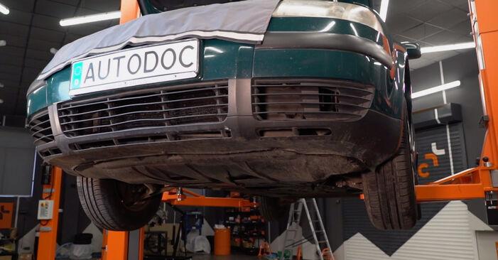 Jaké náročné to je, pokud to budete chtít udělat sami: Olejovy filtr výměna na autě Passat 3B6 2.0 TDI 1996 - stáhněte si ilustrovaný návod