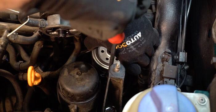 PASSAT Variant (3B6) 1.6 2001 Filtre à Carburant manuel d'atelier pour remplacer soi-même